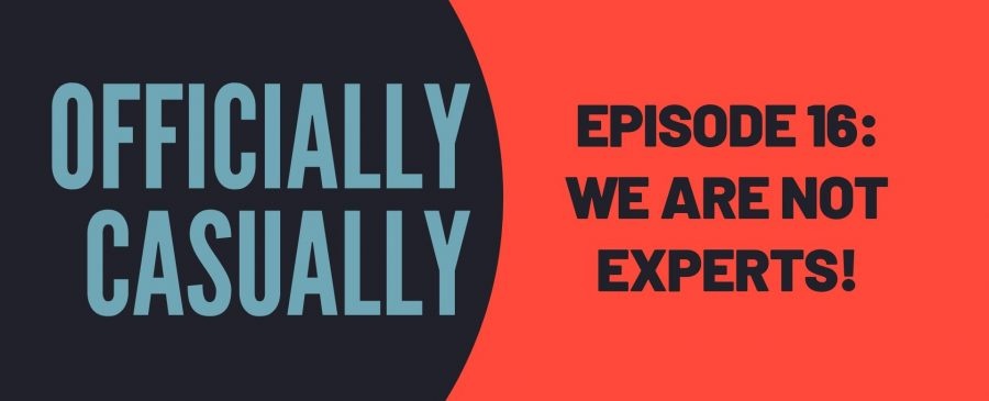 #16 EPISODE - WE ARE NOT EXPERTS!